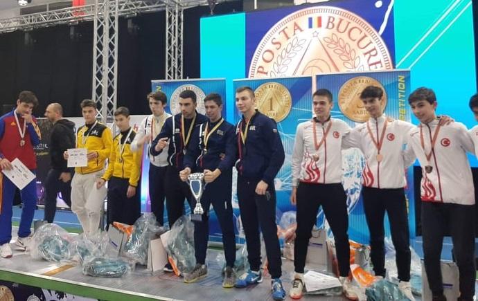 Европейска купа Букурещ кадети кадетки сабя