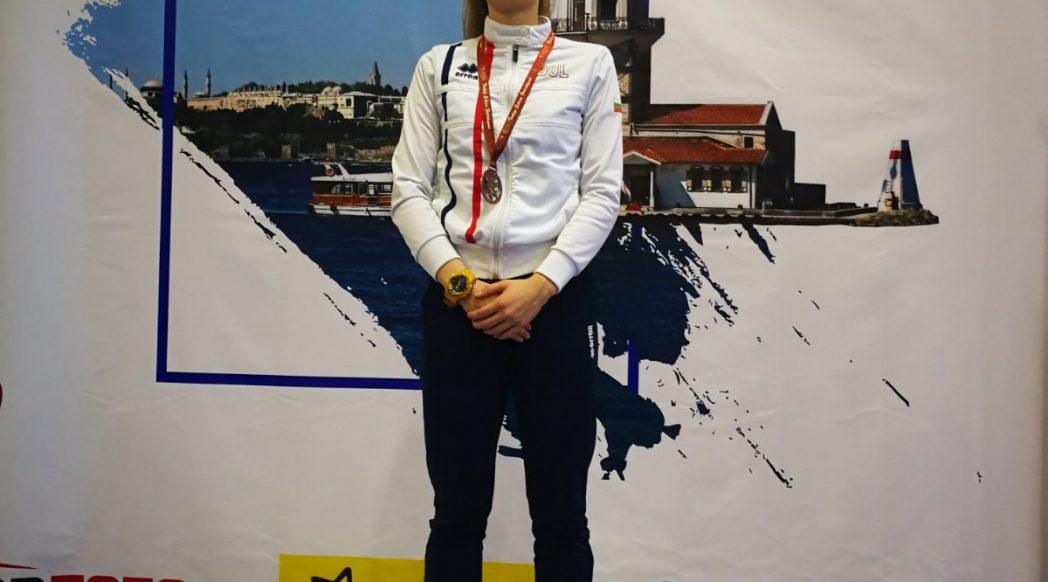Европейска купа сабя Истанбул Емма Нейкова