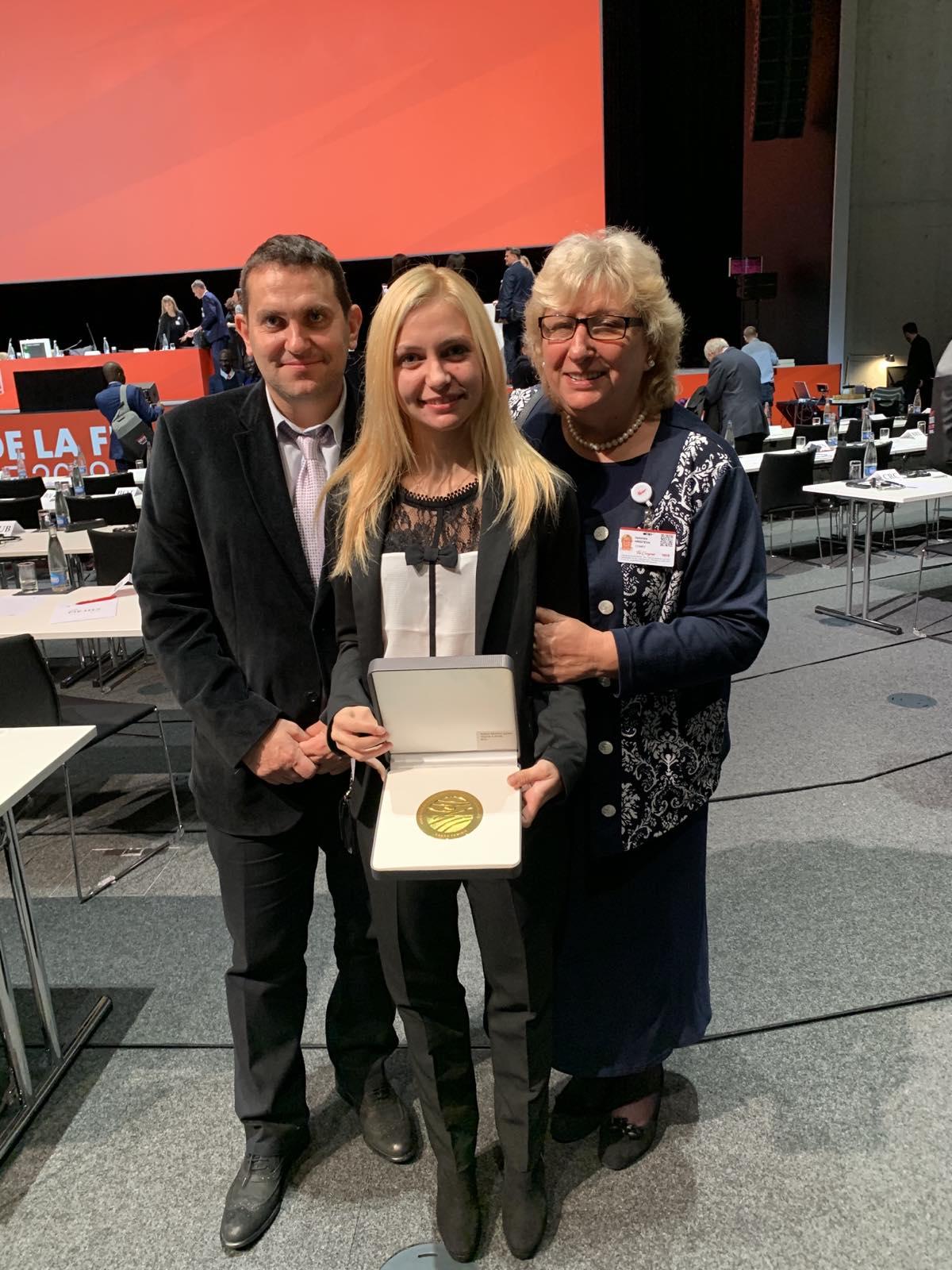 Йоана Илиева Ивайло Воденов награда Международна федерация по фехтовка