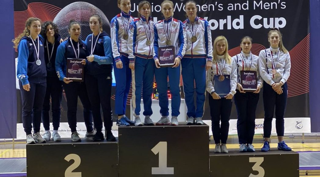 Световна купа девойки Полша бронзов медал