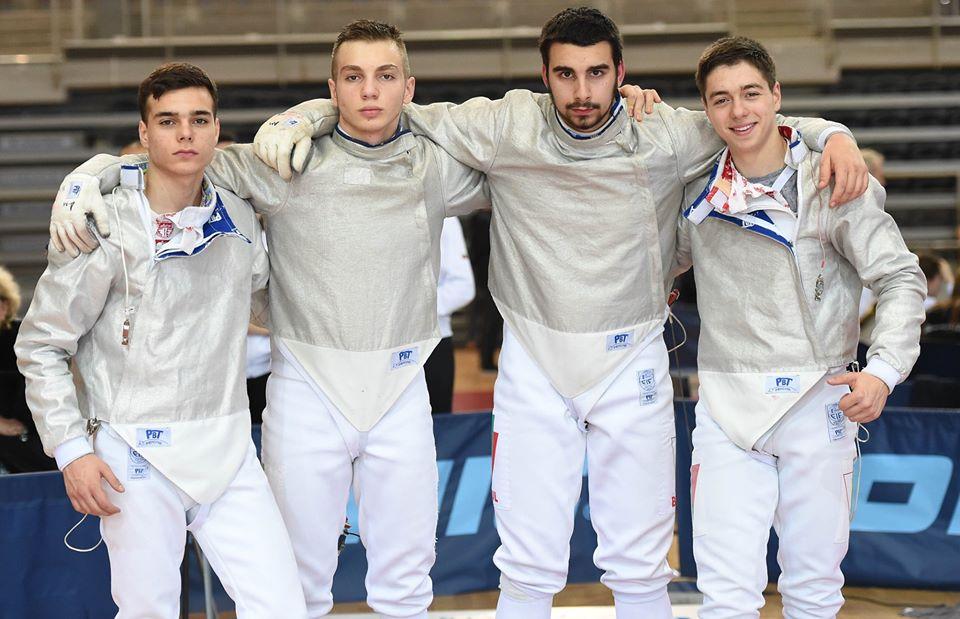 Европейско първенство кадети отборно сабя