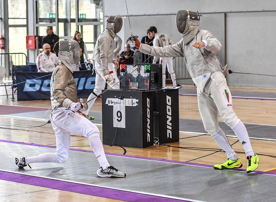 Европейско първенство Хърватия младежи сабя Димитър Райкин