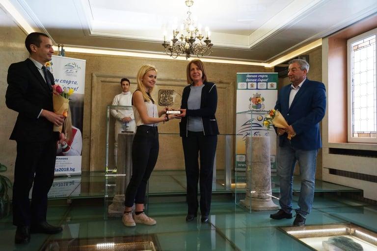 Йоана Илиева лице за 2020 на София - европейска столица на спорта