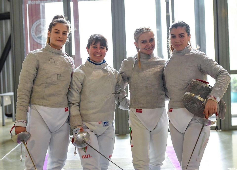 Европейско първенство девойки отборно сабя