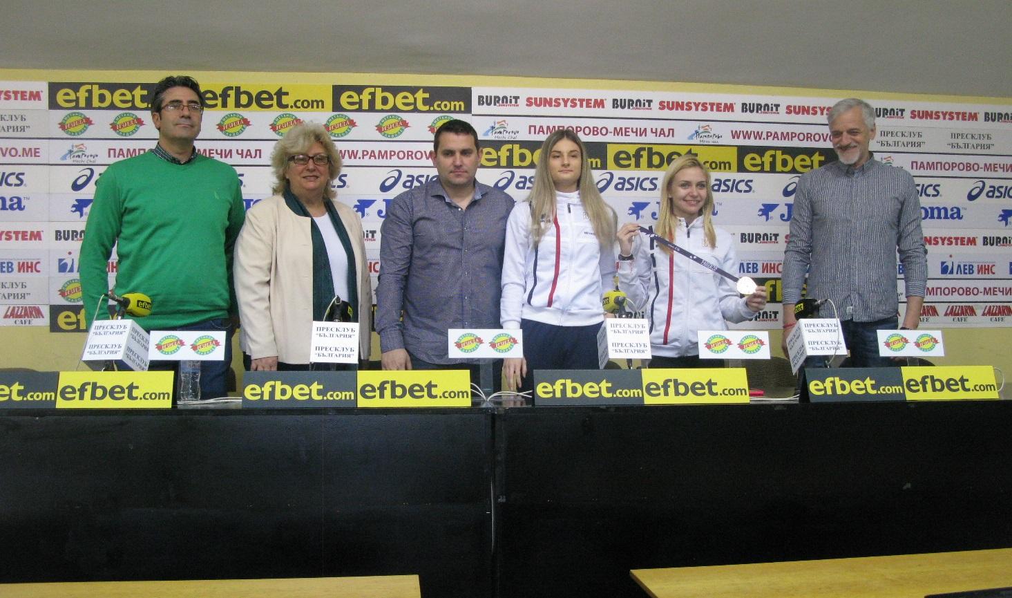 Йоана Илиева Европейско първенство олимпийски медал