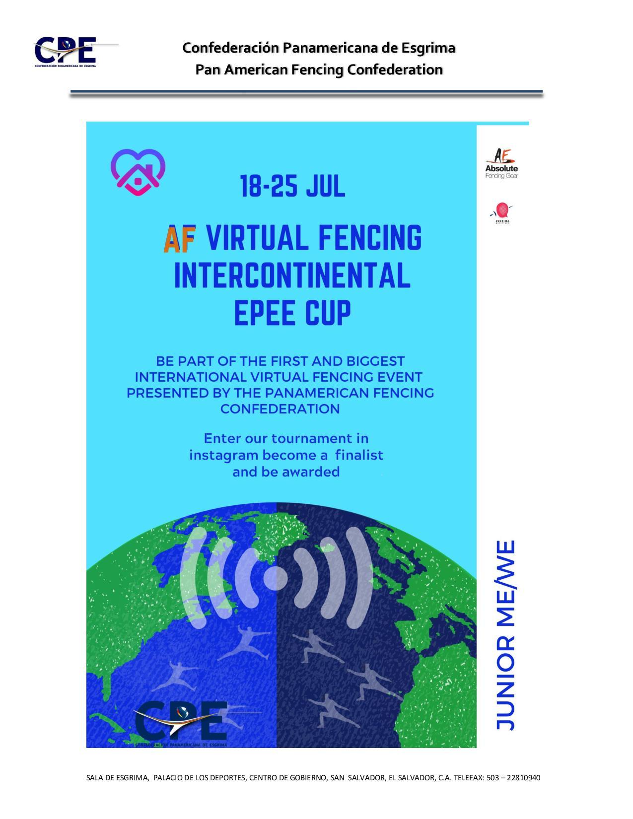 Виртуална интерконтинентална купа шпага