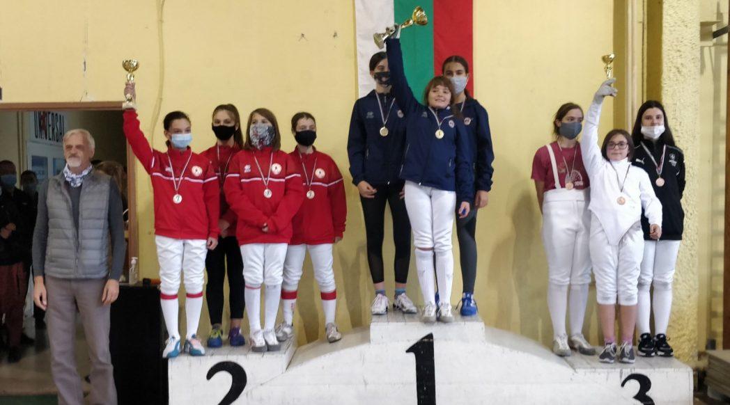 държавно първенство на сабя за момичета и момчета до 11 и до 13 години