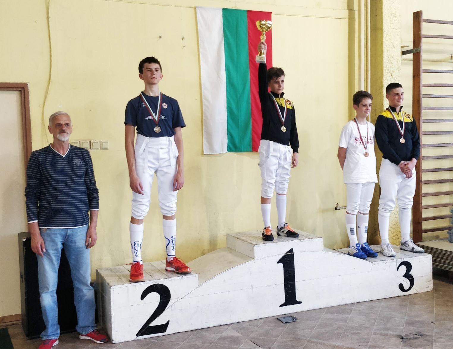 държавно първенство на сабя, Пловдив